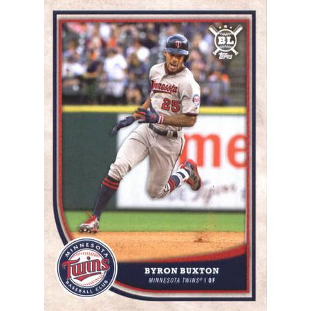 2018 Topps Big League #38 Byron Buxton Minnesota Twins Baseball Card - *GOTBASEBALLCARDS (Topps Minnesota Twins Baseball Cards)