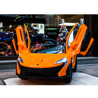 Official SuperCar McLaren Kids Ride on Car Powered  with RC, Doors, Music, Lights