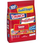 Nestle Chocolate Candy Variety Pack, Miniature Bars, 40 Oz, 100 Ct