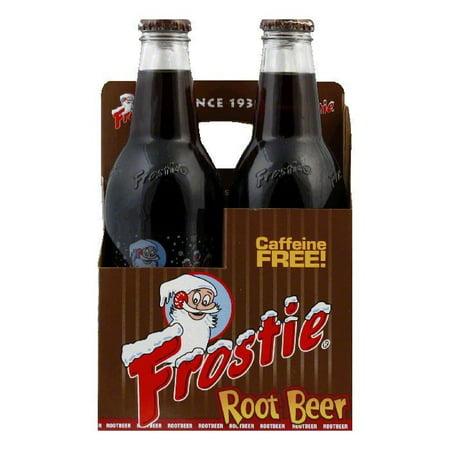 Beer 6 Pack Bottles - Frostie Root Beer 4 pack, 48 FO (Pack of 6)