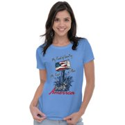 USA Womens Tees Shirts Ladies Tshirts My Kind Of Country Kind Of Place America