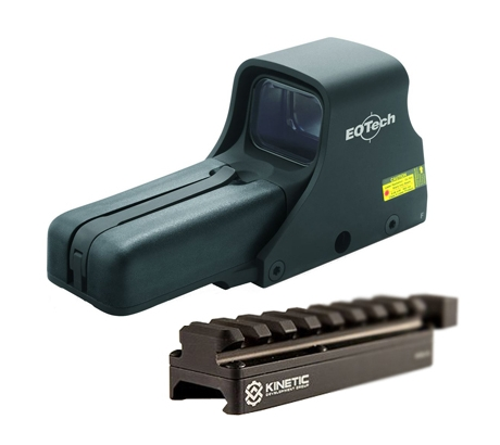 EOTech 512 A65 Holographic Weapon Sight 512-A65 w  Kinetic Development Group SID by
