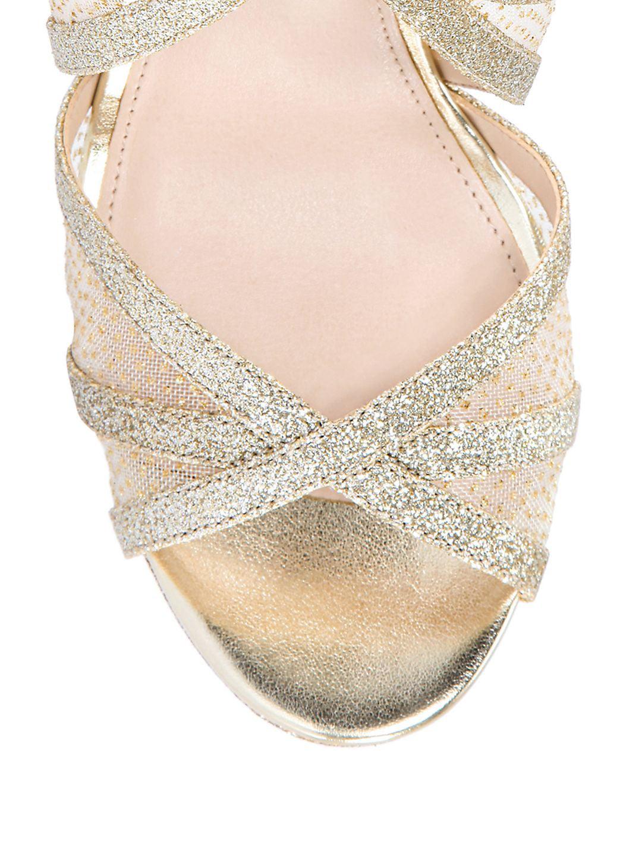 0dc0be13e520 Nina - Fenna Glitter Platform Sandals - Walmart.com