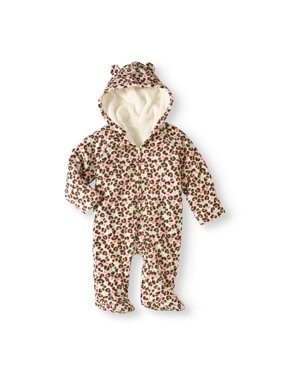 b049a8c45a6 Product Image Newborn Baby Girls  Fleece Eared Pram