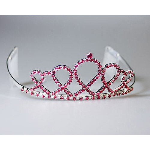 Sunnywood Breast Cancer Awareness Tiara Adult Costume Accessory