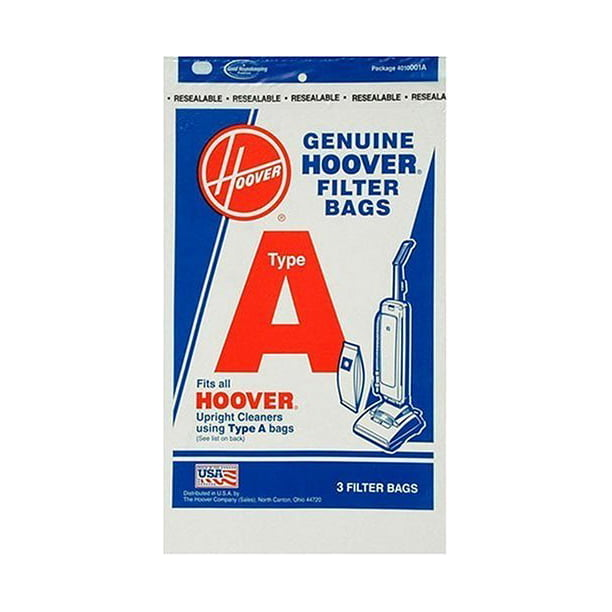 Hoover 4010001a Type A Vacuum Bags 9