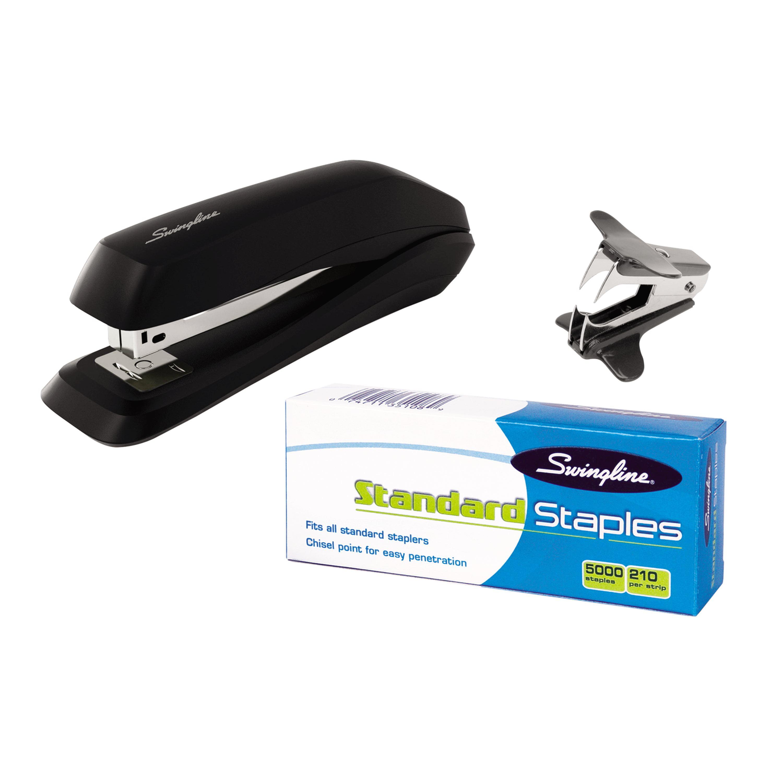 Swingline Standard Stapler Value Pack, Black (S7054551H)