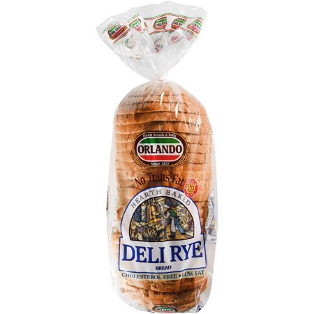 Orlando Deli Rye Bread, 24 oz - Walmart com