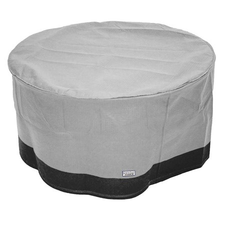 Outdoor Patio Round Ottoman / Side Table Furniture Cover - 31