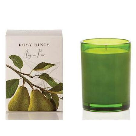 Botanical Jar (ANJOU PEAR Rosy Rings Botanical 17.5 oz Glass Jar)
