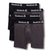 Men's Reebok 193PB43 Core Performance Boxer Briefs - 4 Pack