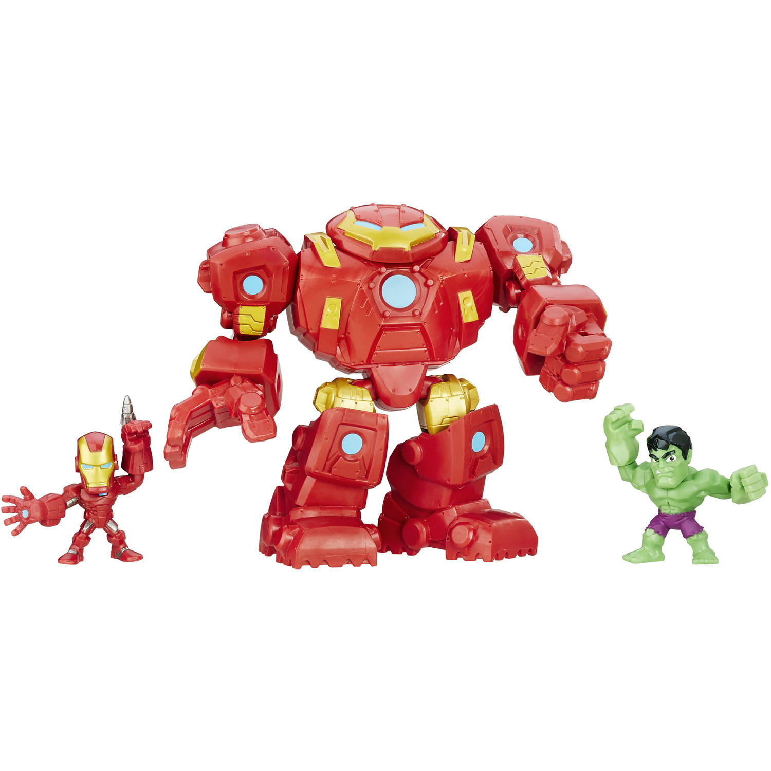 Marvel Super Hero Mashers Hulkbuster Fury Force Figure Set Image 1 of 2