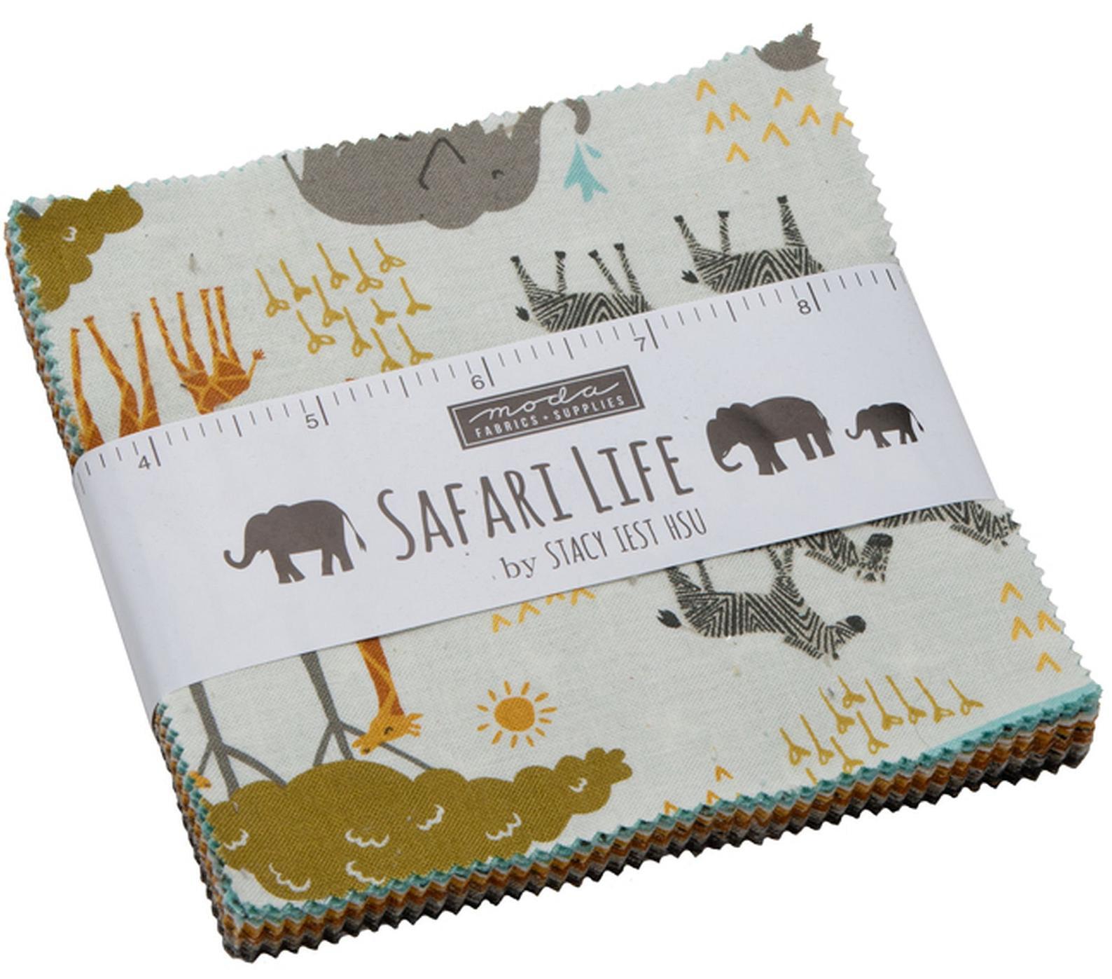 Sweet Safari Charm Quilt