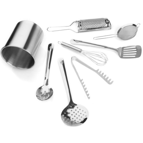 For The Chef 9-Piece Kitchen Starter Utensil Set