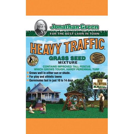 HEAVY TRAFFIC GRASS SEED 3LB (Best Soil For New Grass Seed)