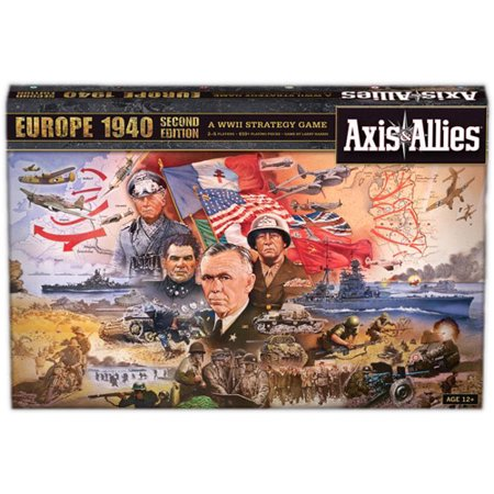 Wizards of the Coast Axis & Allies Europe 1940 Game Axis Allies Base Set