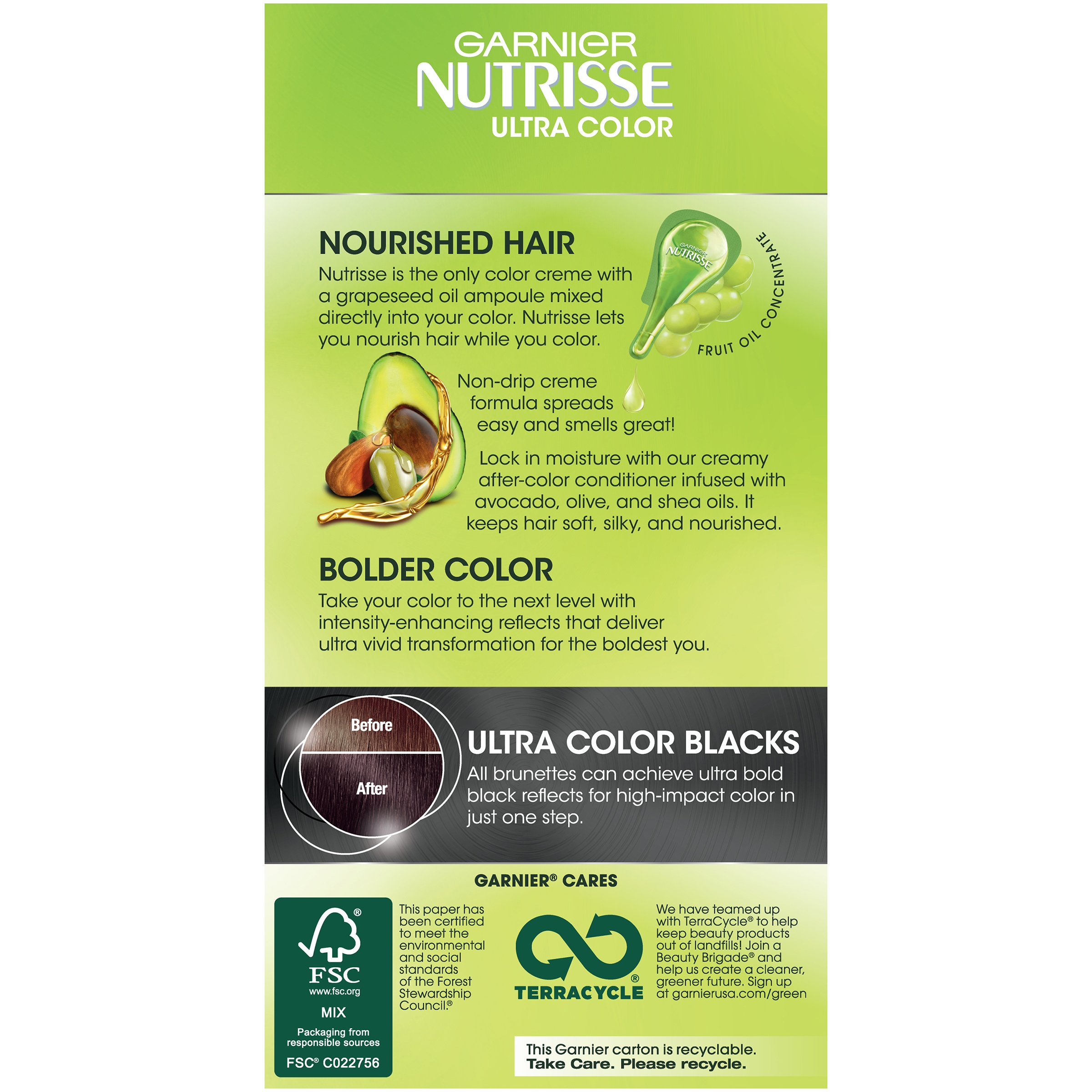Garnier Nutrisse Ultra Color Nourishing Hair Color Creme - Walmart.com