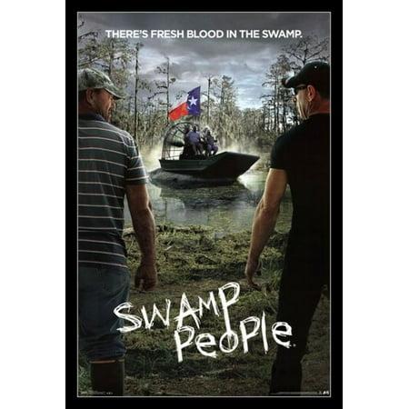 Swamp People - Key Art Poster Print