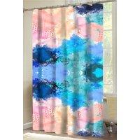 "Your Zone Color Splash 70"" x 72"" Shower Curtain, 1 Each"