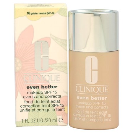Even Better Makeup SPF 15 #16 Golden Neutral (MF-G)-Dry To Combination Oily Skin by Clinique for