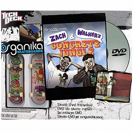 Tech Deck 20022508 Organika Skateboards, 2 Boards And Skate Dvd by Tech Deck