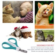 Stainless Steel Pet Dog Cat Nail Clippers Toe Claw Scissors Groomer Cutter