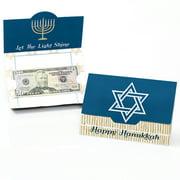 Happy Hanukkah - Chanukah Money and Gift Card Holders - Set of 8