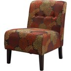 Linon Home Decor Linen Lily Chair Multiple Patterns