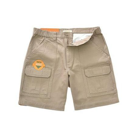 Savane Men's Size 40 UPF 30 Comfort Hiking Cargo Shorts w/Tech Pocket,