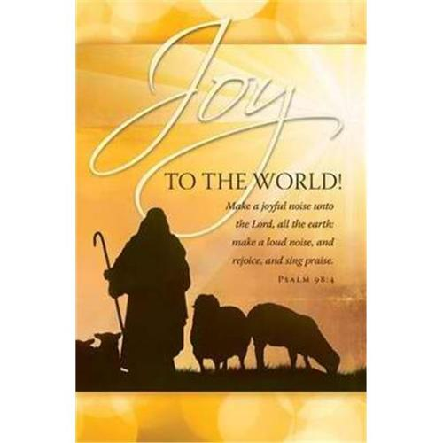 Bulletin-Joy To The World (Pack Of 100)