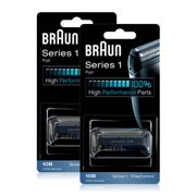Braun  1000/2000FC/10B/20B_X2 Replacement Foil and Cutter 2-Pack