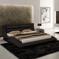 J&M Furniture Wave Platform Bed