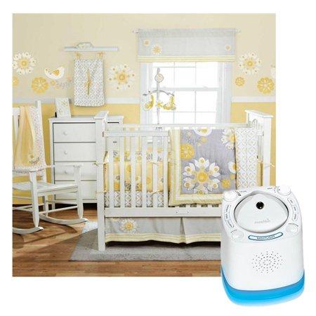 Banana Fish Migi Sweet Sunshine 3 Piece Baby Crib Bedding Set With Nursery Sound Machine