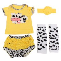 "New 22"" Reborn Doll Clothes Newborn Baby Dolls Clothing+ Headdress Yellow"