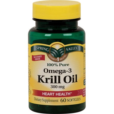 Spring valley krill oil 300mg 60ct for Spring valley fish oil review