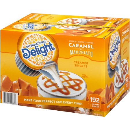 Liquid Creamer Cups - International Delight Caramel Macchiato Creamer Cups (192 ct.) - 2 Pack