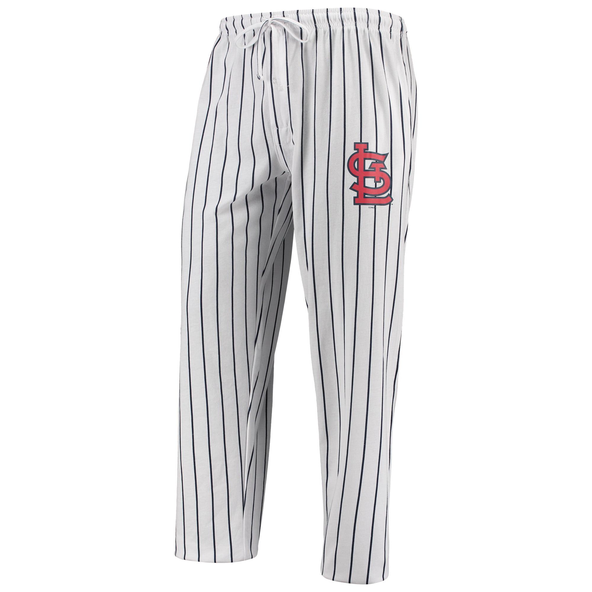 St. Louis Cardinals Concepts Sport Vigor Lounge Pant - White/Navy
