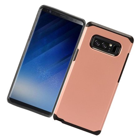 Samsung Galaxy Note 8 Case, by Insten Dual Layer [Shock Absorbing] Hybrid Hard Snap-in Case Cover For Samsung Galaxy Note 8, Blue/Black - image 3 of 4