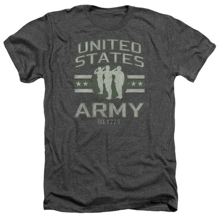 Army United States Army Mens Adult Heather T - Army Heather