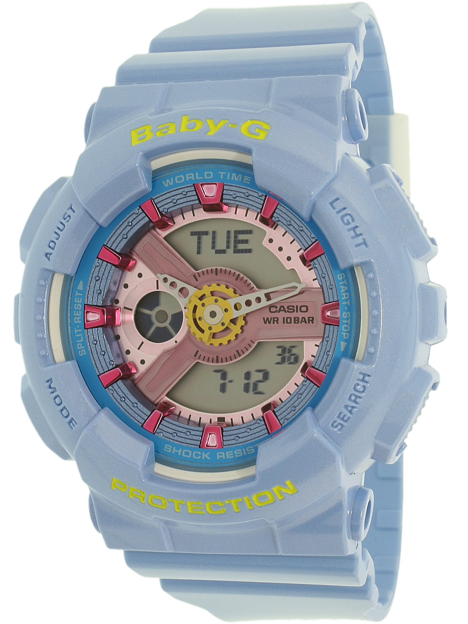 Casio Women's Baby-G BA110CA-2A Blue Plastic Quartz Fashion Watch
