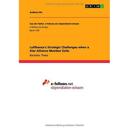 Lufthansas Strategic Challenges When A Star Alliance Member Exits