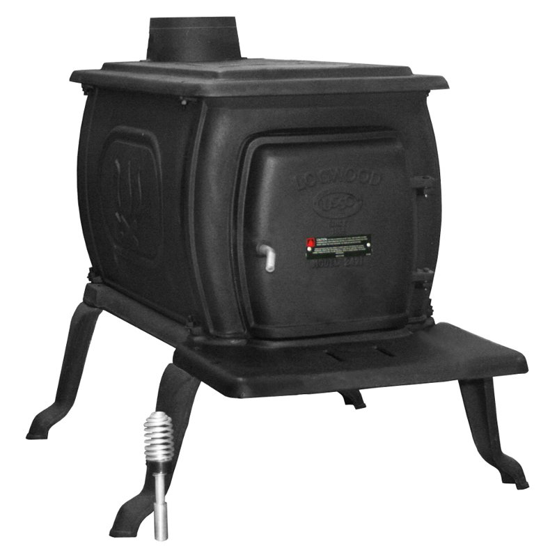 US Stove EPA Certified 26 in. Cast Iron Logwood Stove by US STOVE