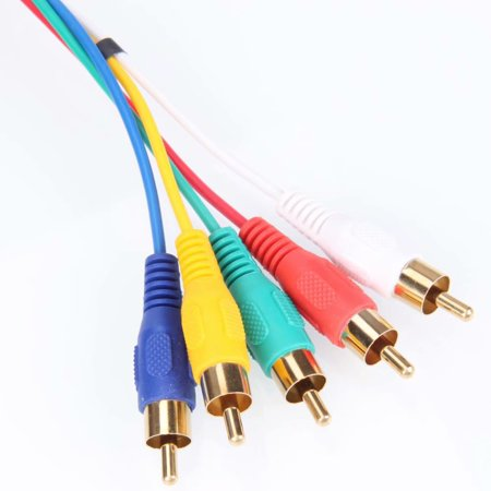 Akoyovwerve HDMI Male to 5 RCA RGB Audio Video AV Component Cable