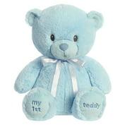 """ebba My First Teddy - 18"""" Blue"""