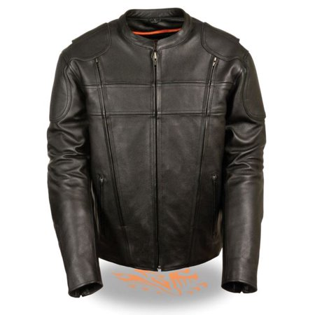 Milwaukee Mens Side Stretch Vented Scooter Jacket Black