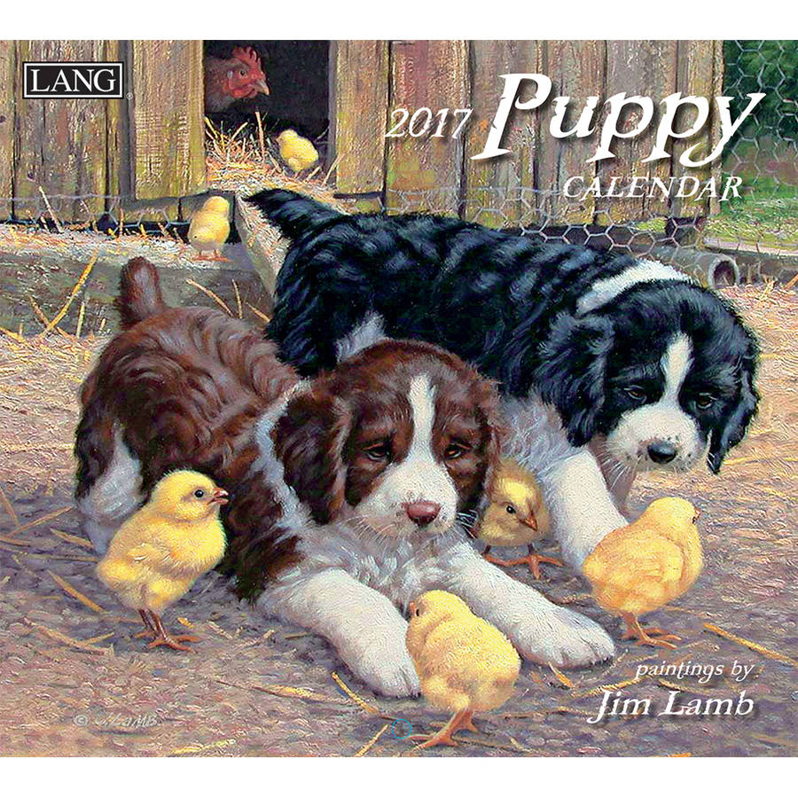 The Lang Lang Puppy 2017 Wall Calendar