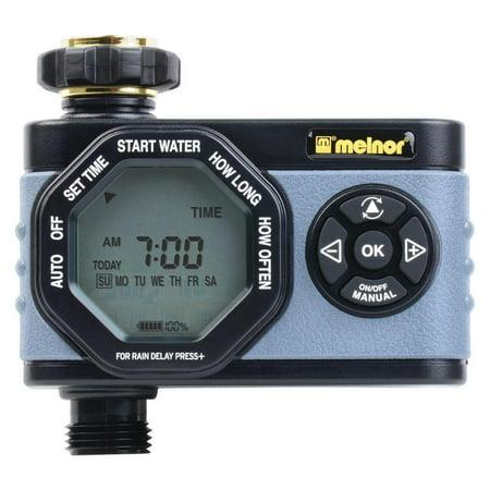 Melnor HydroLogic Advanced Electronic Water Timer 1 Zone, (Melnor Electronic Water Timer)