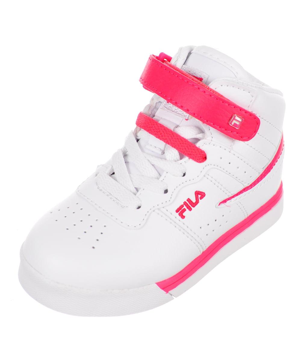 Fila Girls' Vulc 13 Hi-Top Sneakers (Sizes 6 10) by Fila