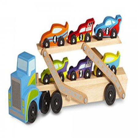 Melissa And Doug Car Carrier (Melissa & Doug Mega Race-Car)