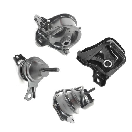 MaxBene Fits: 1998-1999 Honda Accord 2.3L Engine Motor & Trans. Mount Set 4PCS for Auto Transmission 98 99 A6570 A6572 A6583 (Honda Accord Motor)